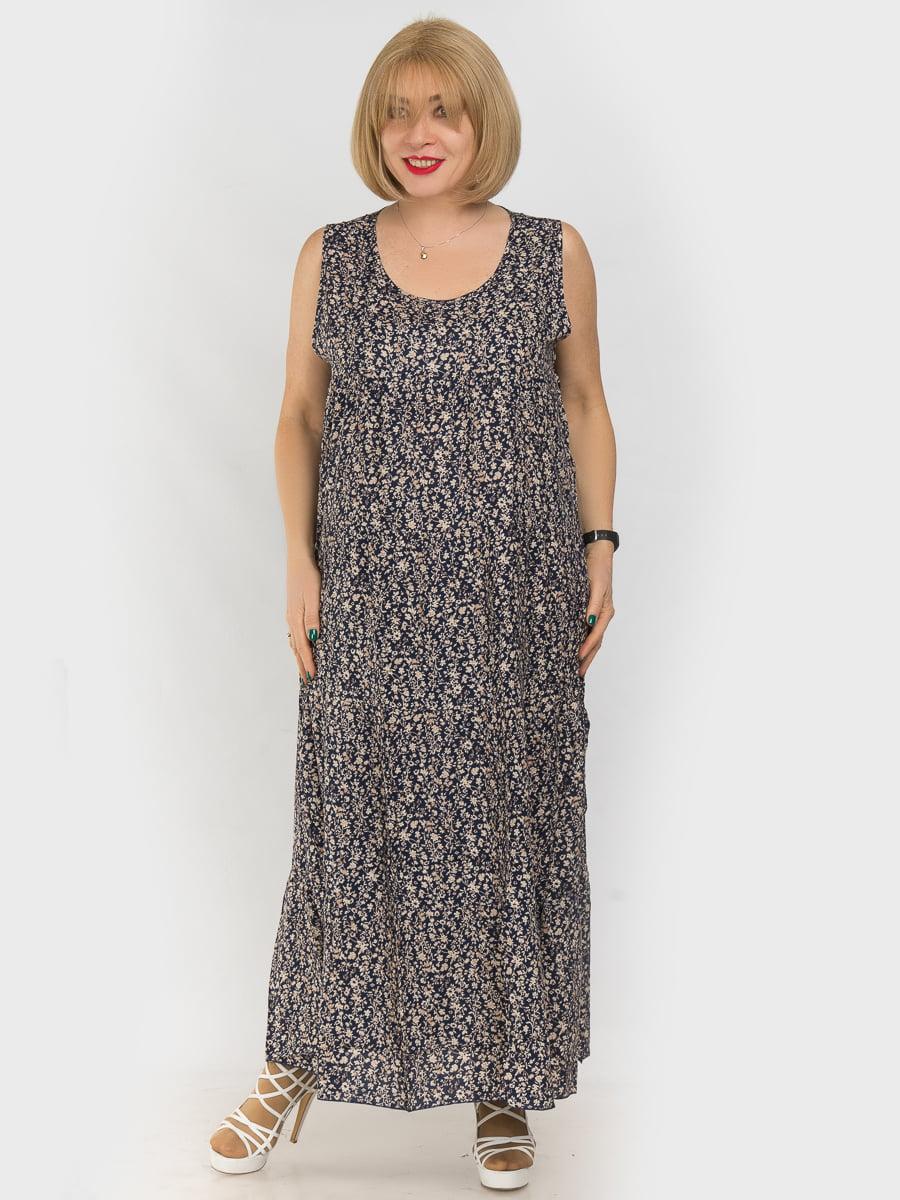 Платье в цветочный принт   4962325