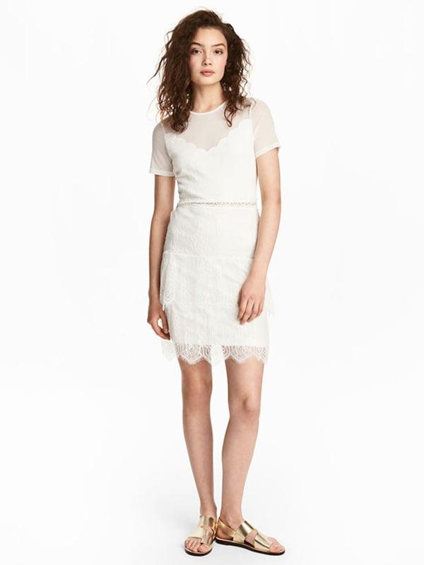 Платье молочного цвета | 4960563