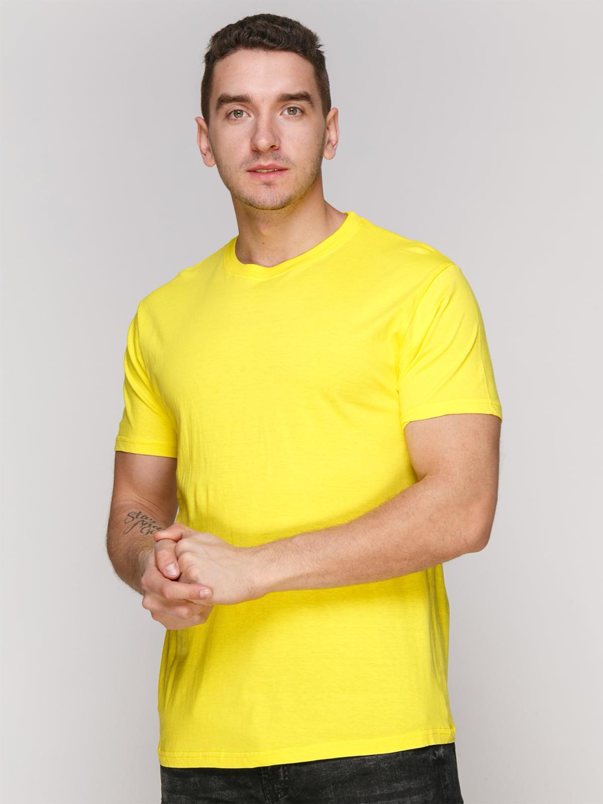 Футболка желтая | 4854909