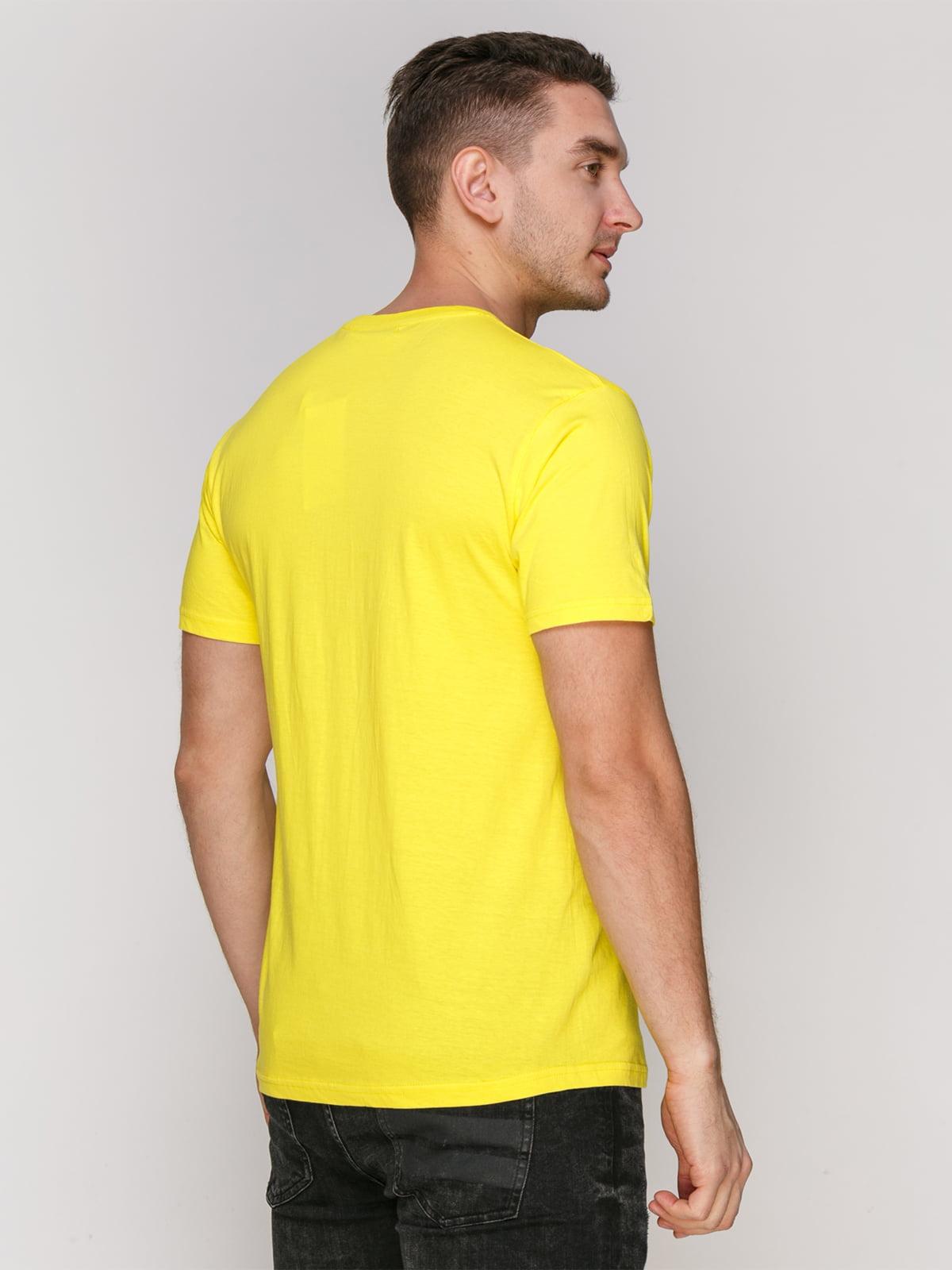 Футболка желтая | 4854909 | фото 2