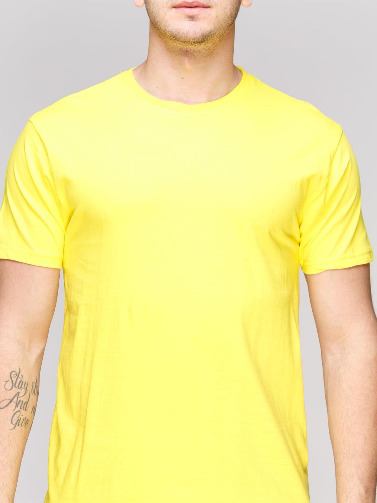 Футболка желтая | 4854909 | фото 3