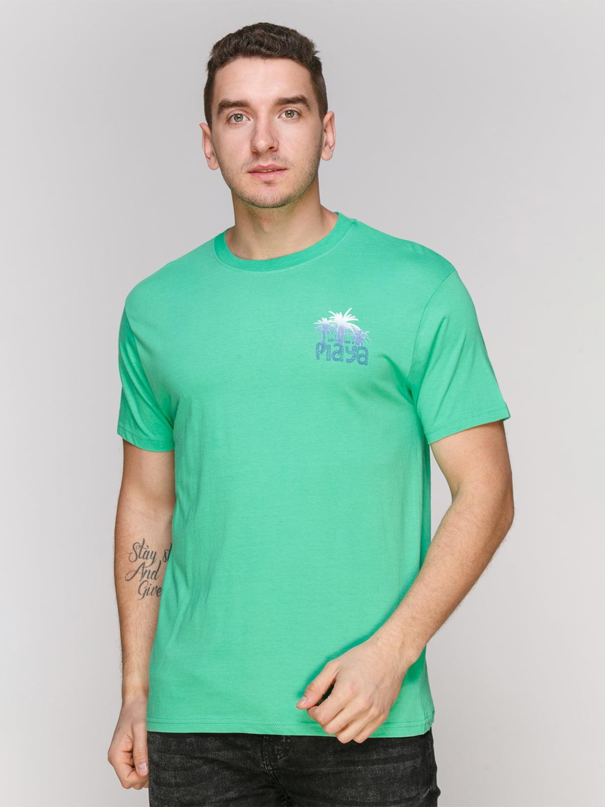 Футболка світло-зелена   4854881
