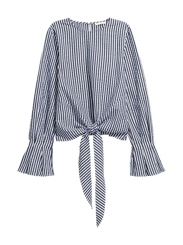 Блуза в полоску | 4960386