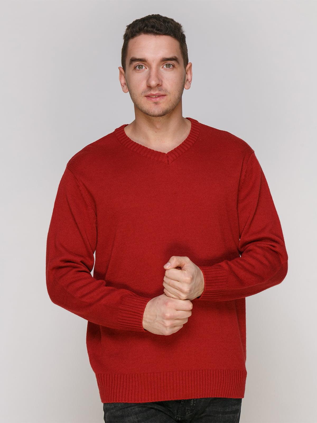 Пуловер червоний | 4855012