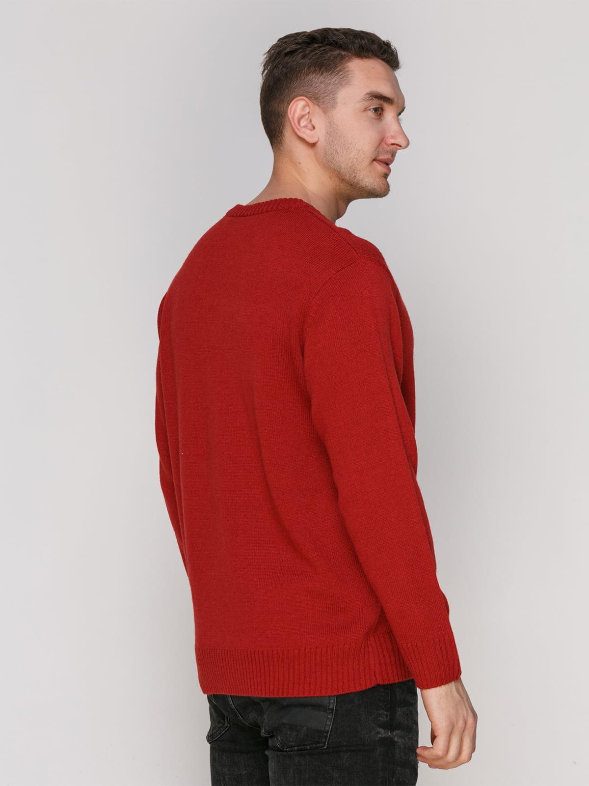 Пуловер червоний | 4855012 | фото 2