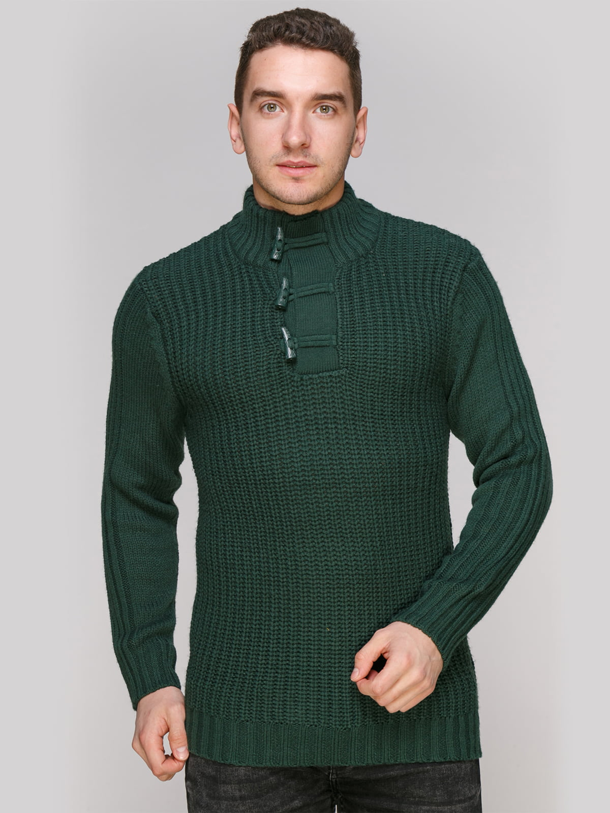 Свитер зеленый | 4855011