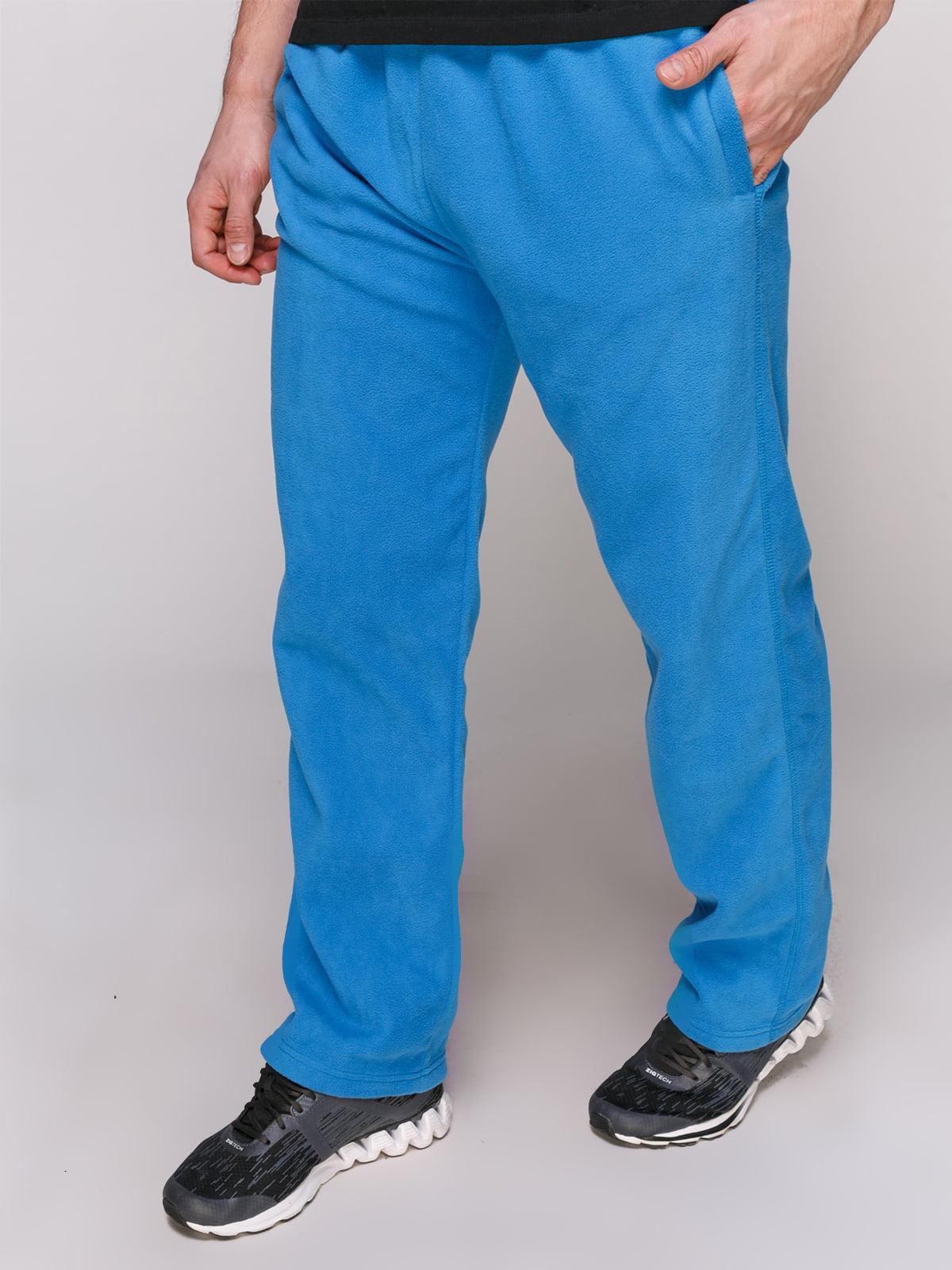 Штани блакитні флісові | 4854823