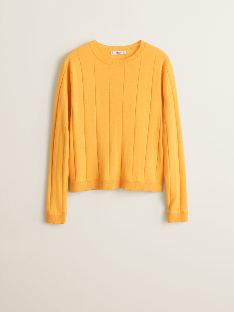 Джемпер желтый | 4902545 | фото 3
