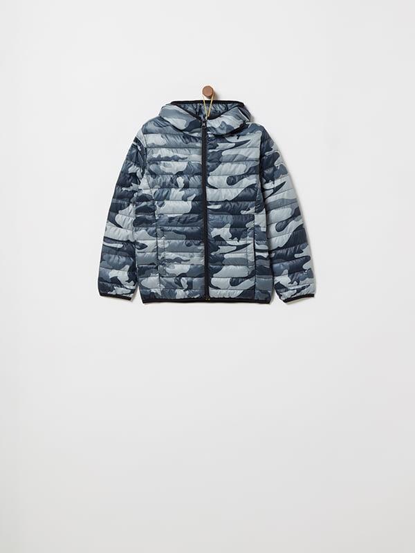 Куртка камуфляжной расцветки | 4902856 | фото 3