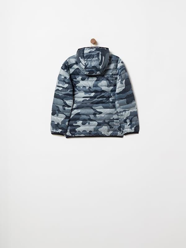 Куртка камуфляжной расцветки | 4902856 | фото 4
