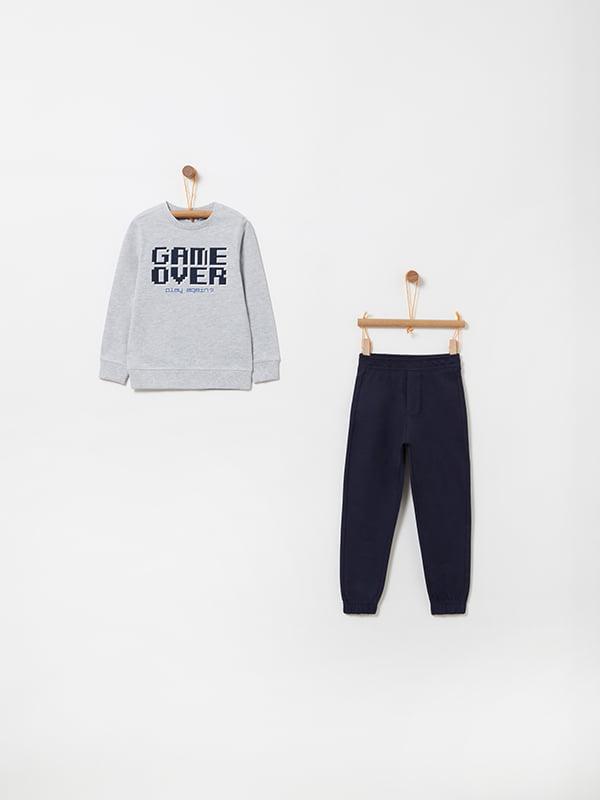 Комплект: світшот та штани | 4902904 | фото 3