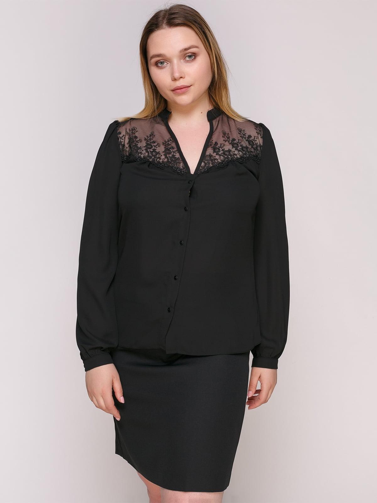 Блуза чорна | 4950622