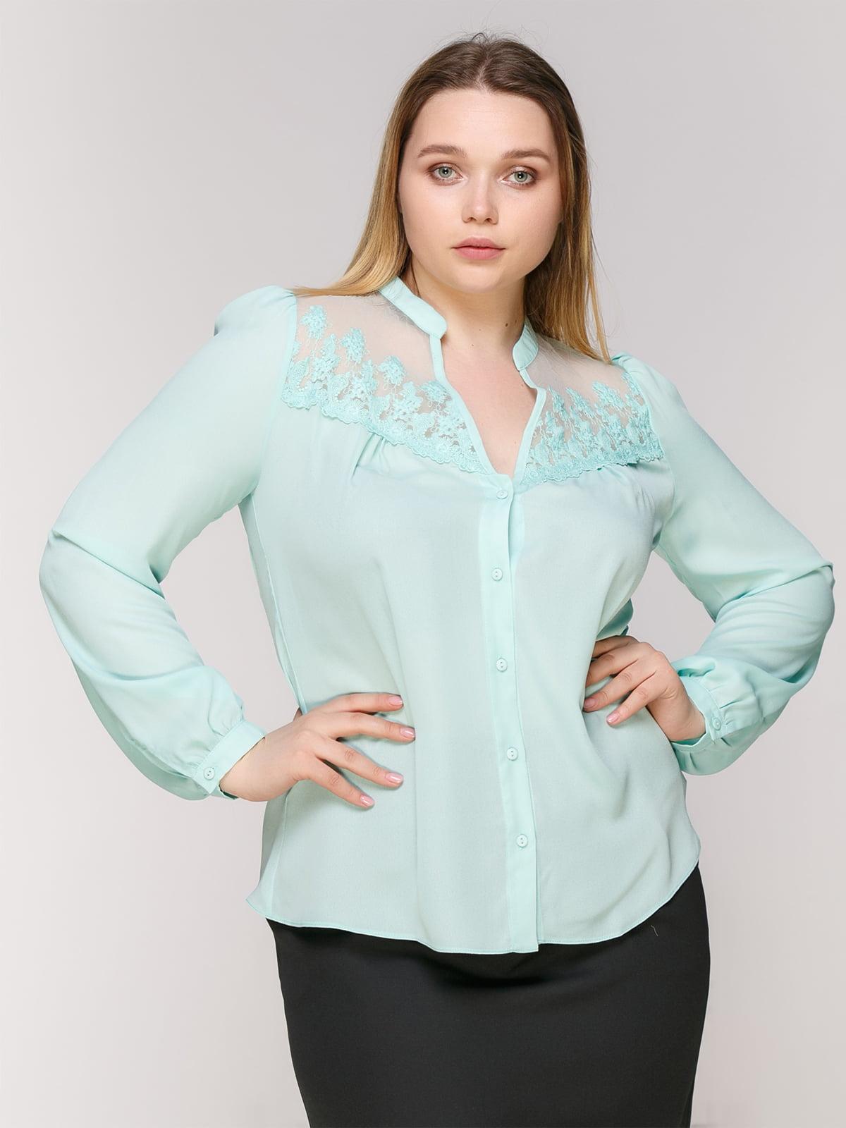 Блуза блакитна | 4903359