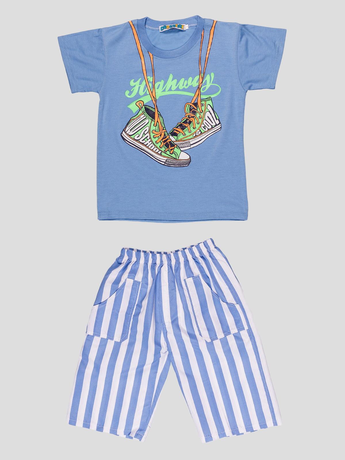 Комплект: футболка і шорти | 4948657