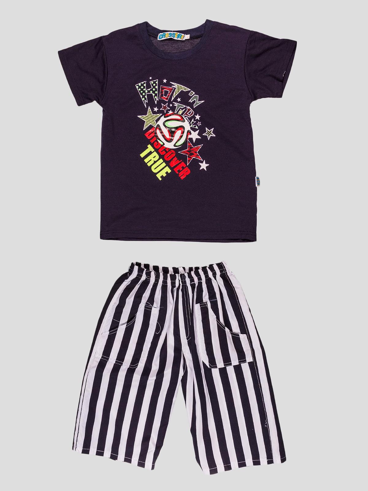 Комплект: футболка і шорти   4948646