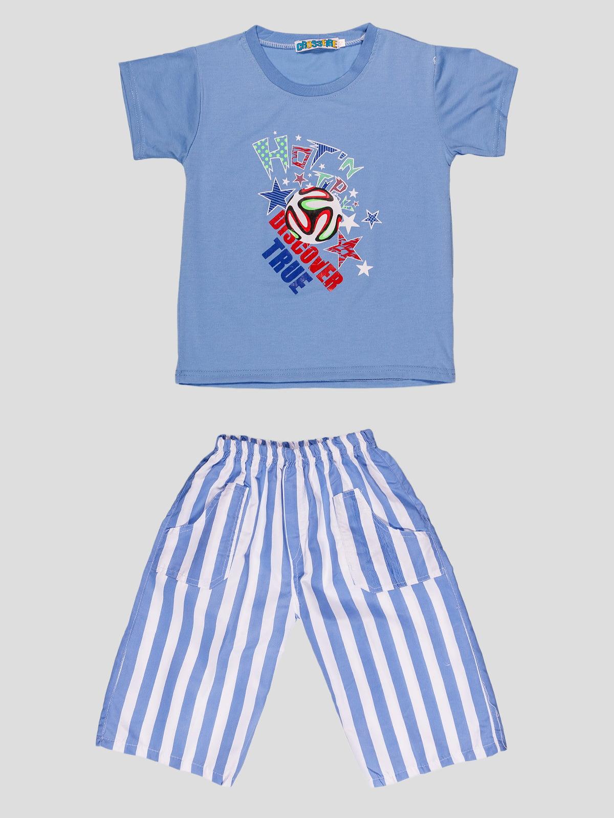 Комплект: футболка и шорты | 4948650