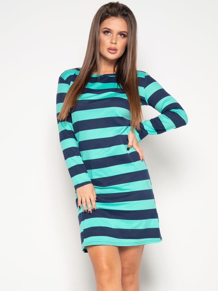 Платье в полоску | 4870814
