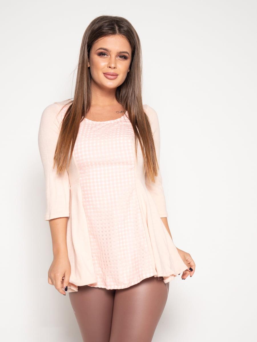 Блуза персикового цвета   4870821