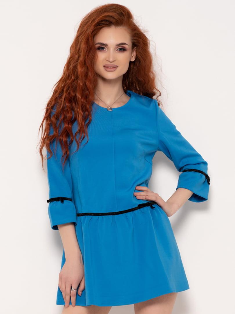 Платье голубое | 4971171