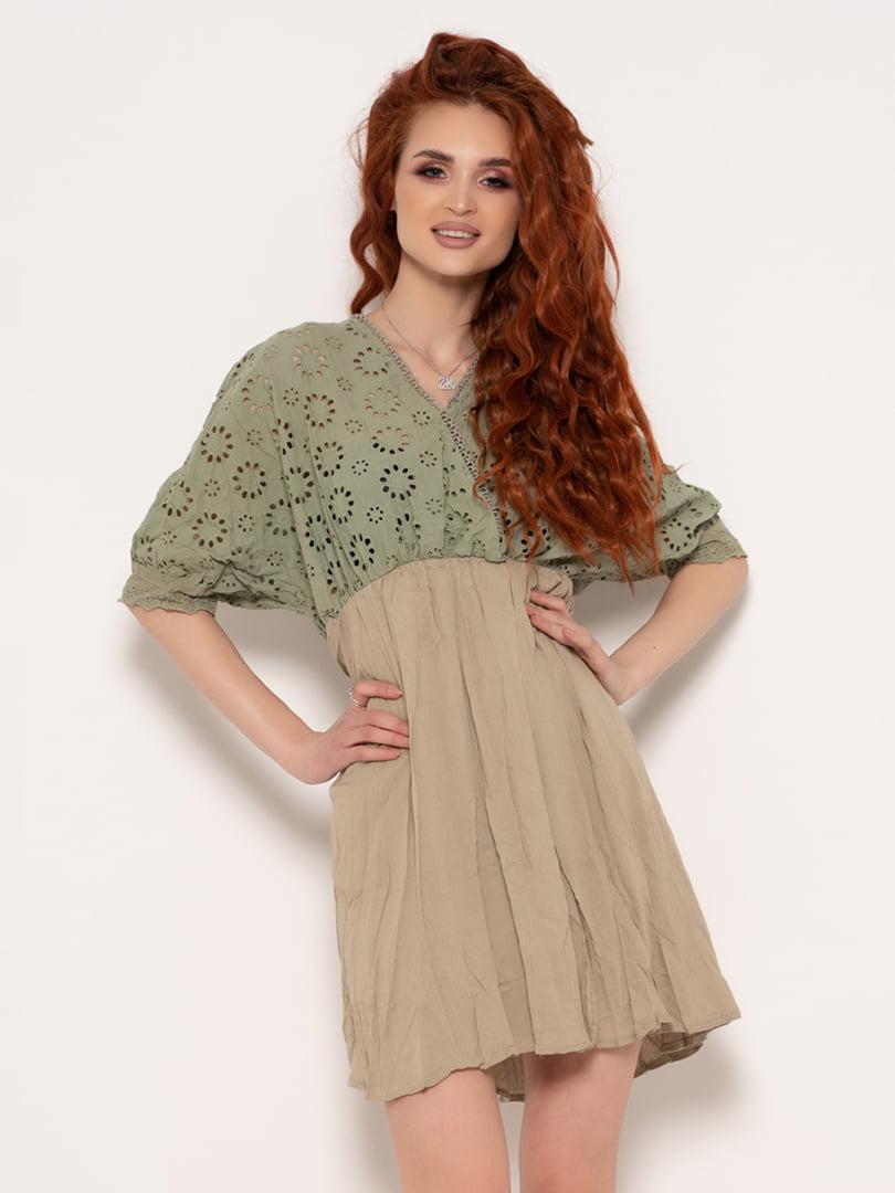 Сукня двоколірна | 4971173