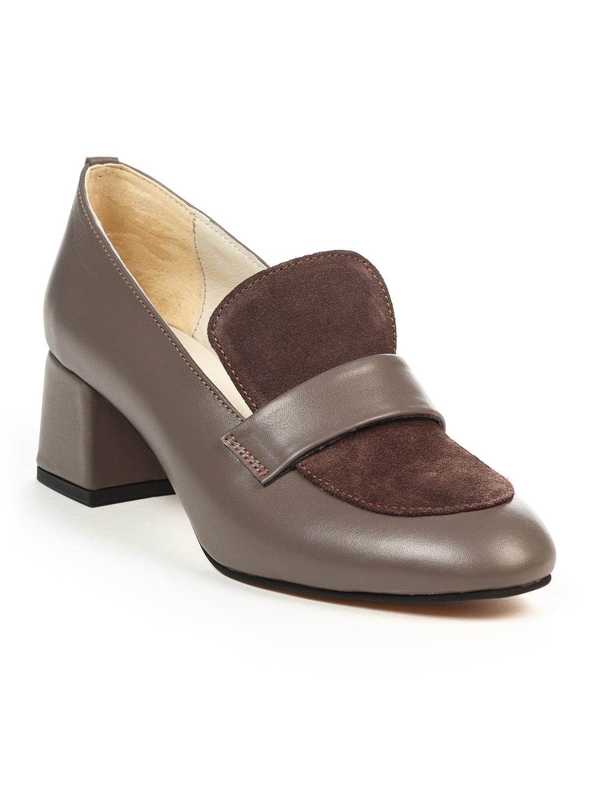 Туфлі кольору мокко | 4965342