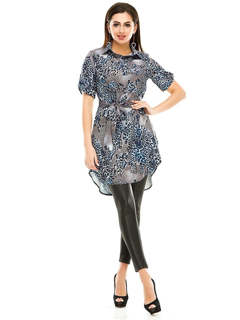 Сукня-туніка в анімалістичного забарвлення   4973539