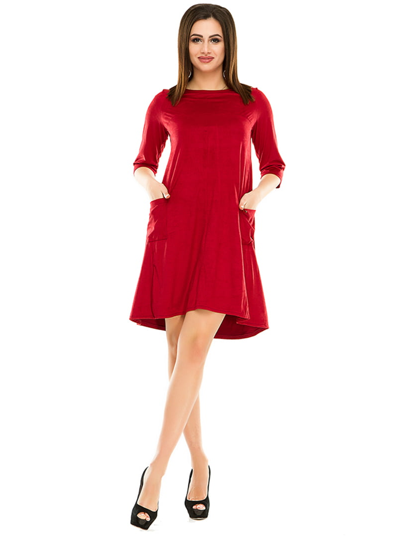 Платье бордовое   4973572
