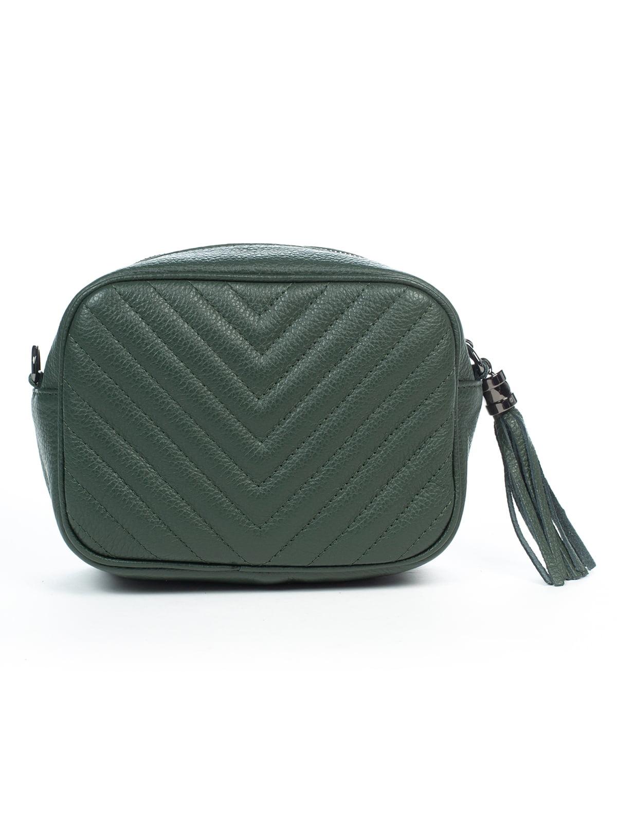 Клатч темно-зеленый | 4932522