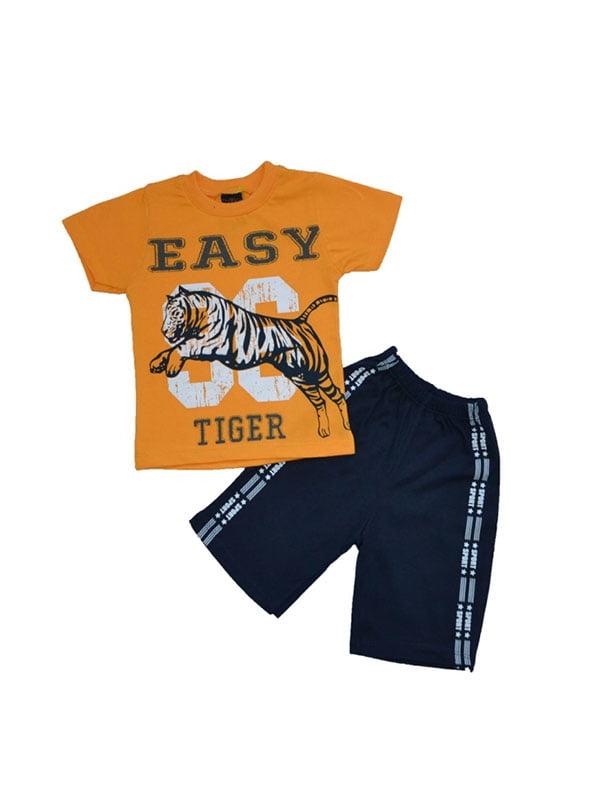 Комплект: футболка и шорты | 4975007