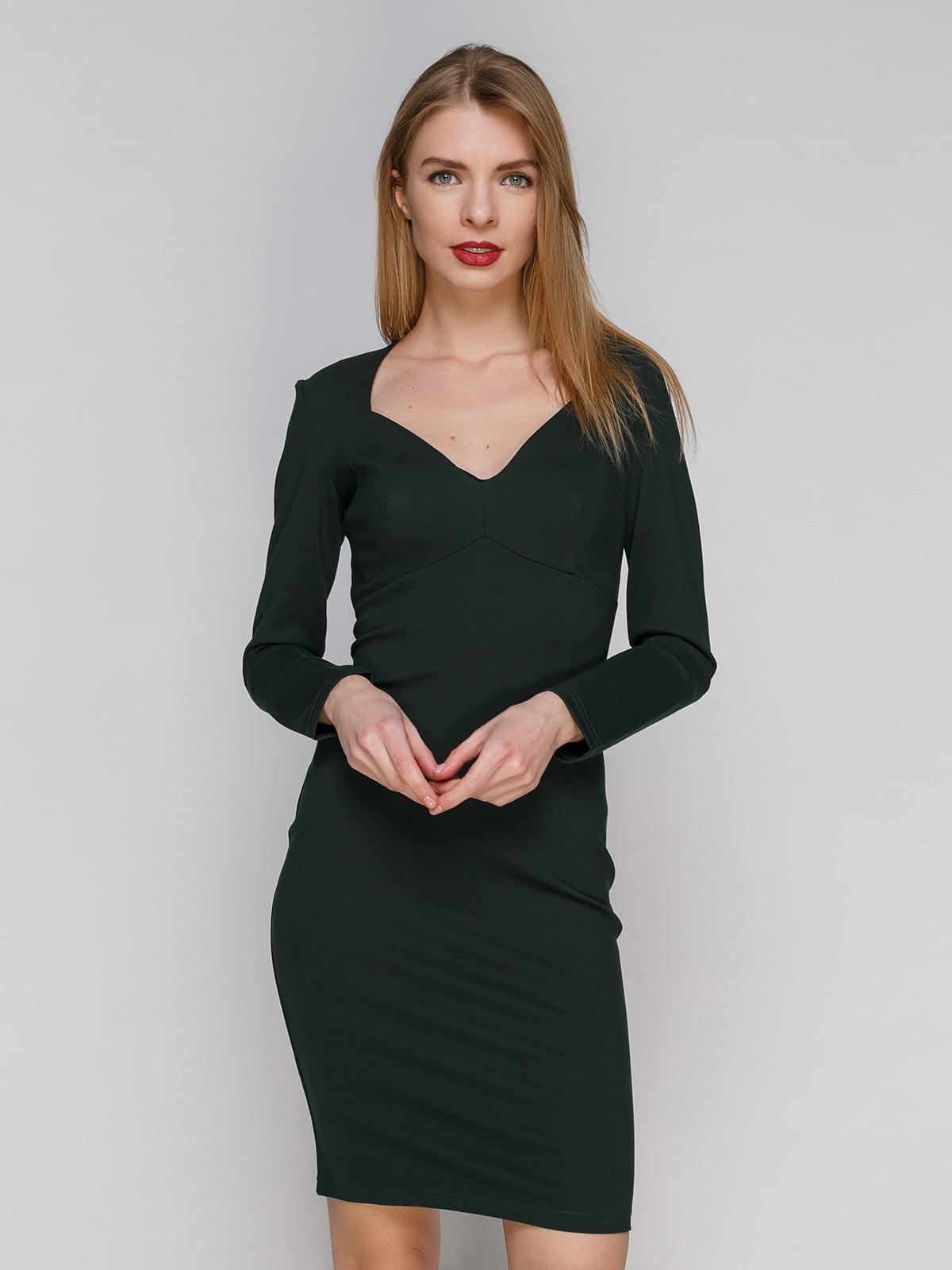 Сукня темно-зелена   4910950