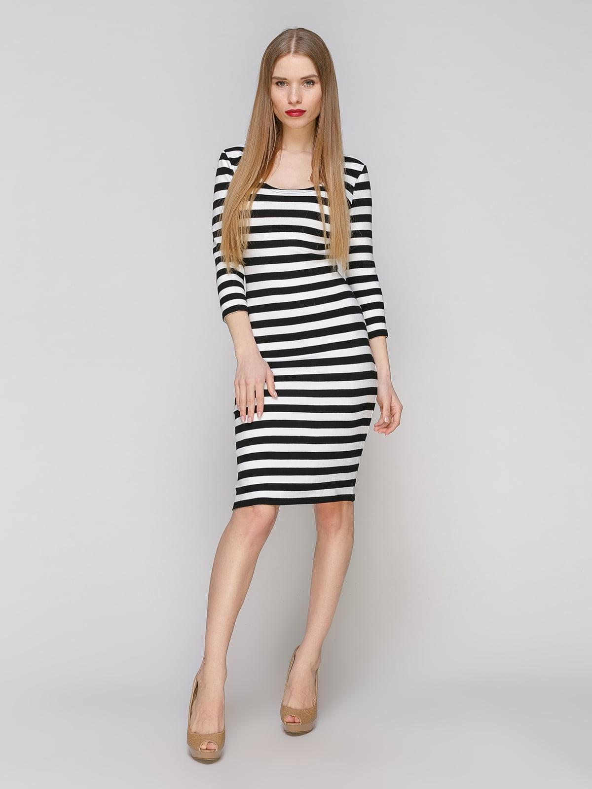 Сукня в смужку | 4910990