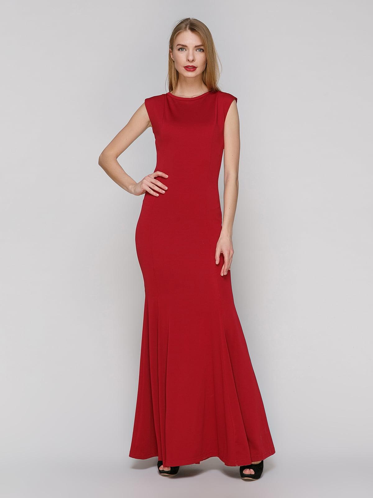 Сукня бордова | 4911120