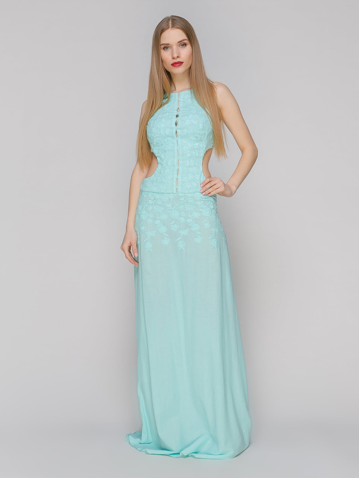 Платье бирюзовое | 4910750