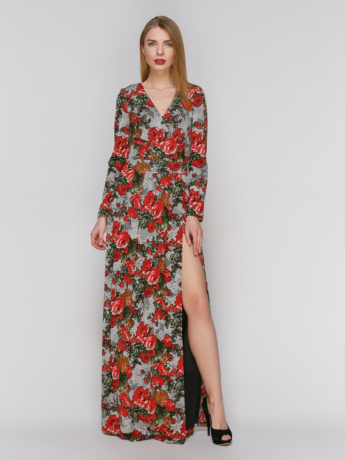 Сукня в квітковий принт | 4911138