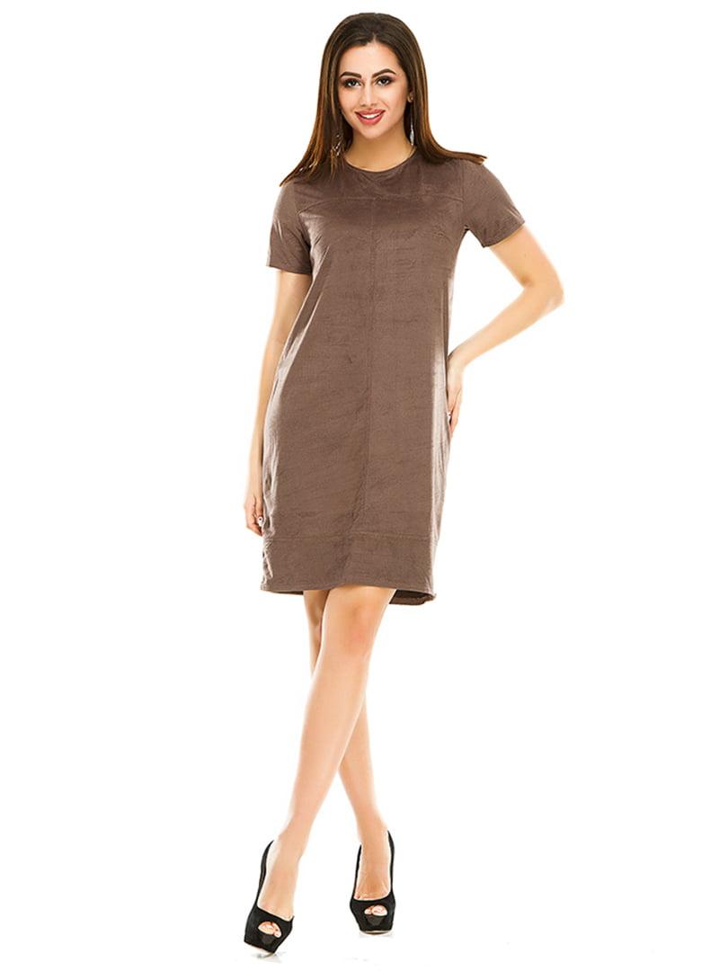 Платье цвета мокко | 4973570