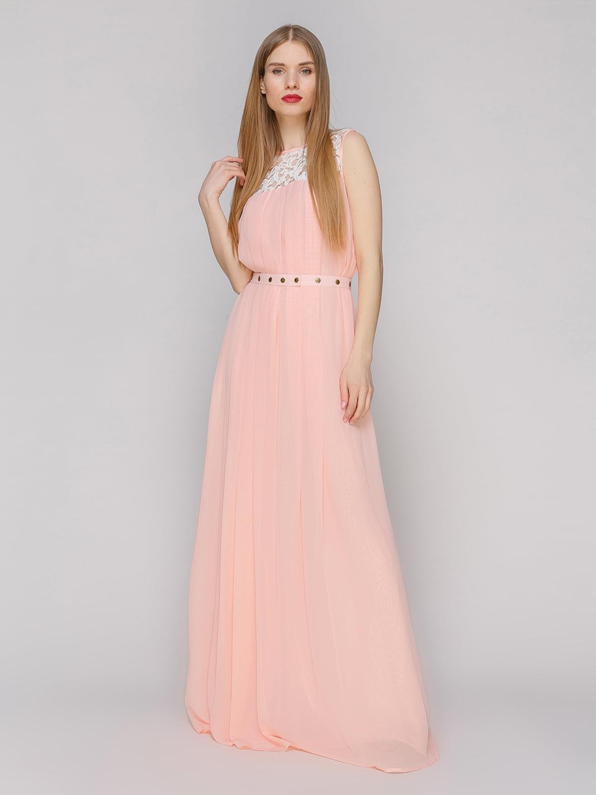 Платье персикового цвета | 4910708