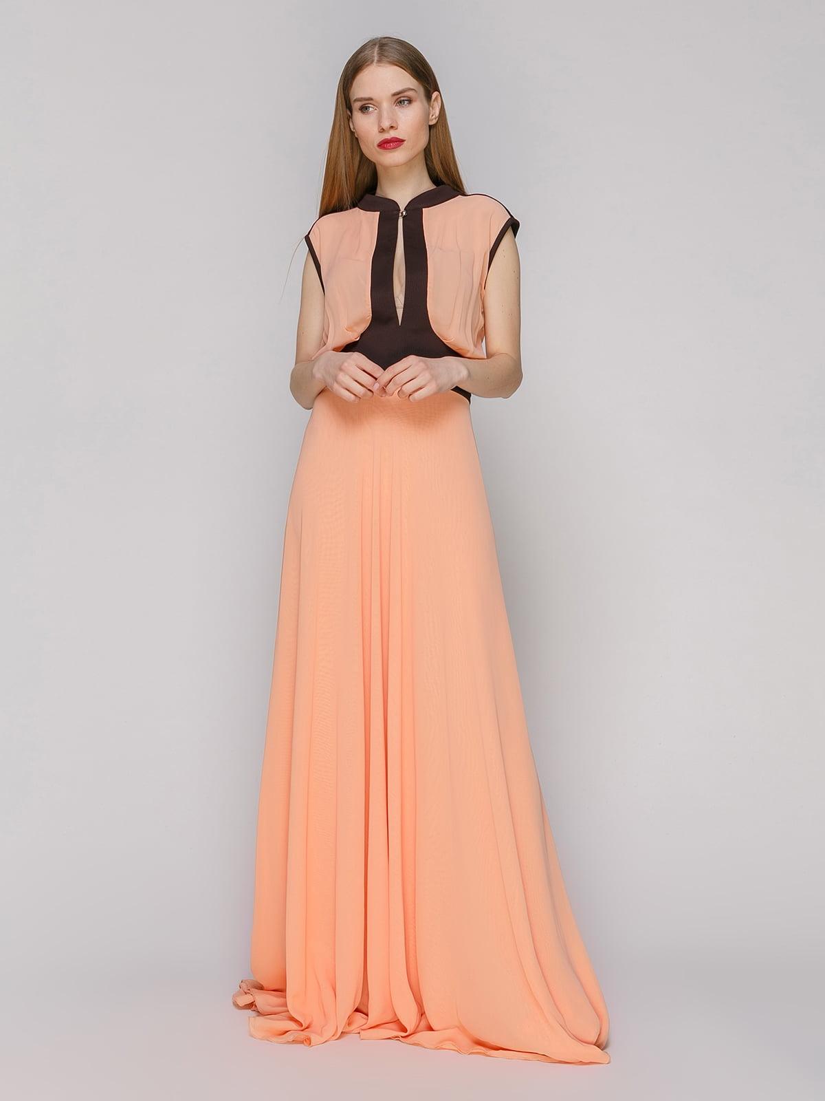 Сукня персикового кольору | 4911076