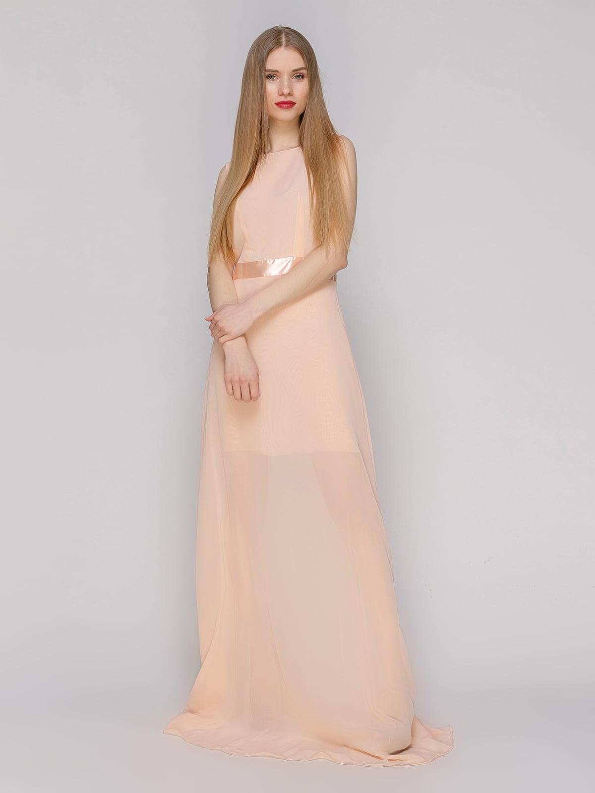 Сукня персикового кольору   4911123
