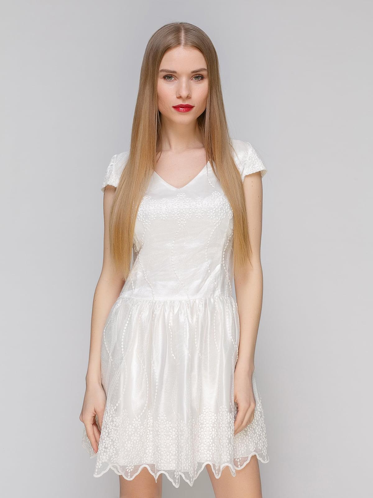 Сукня молочного кольору   4911115