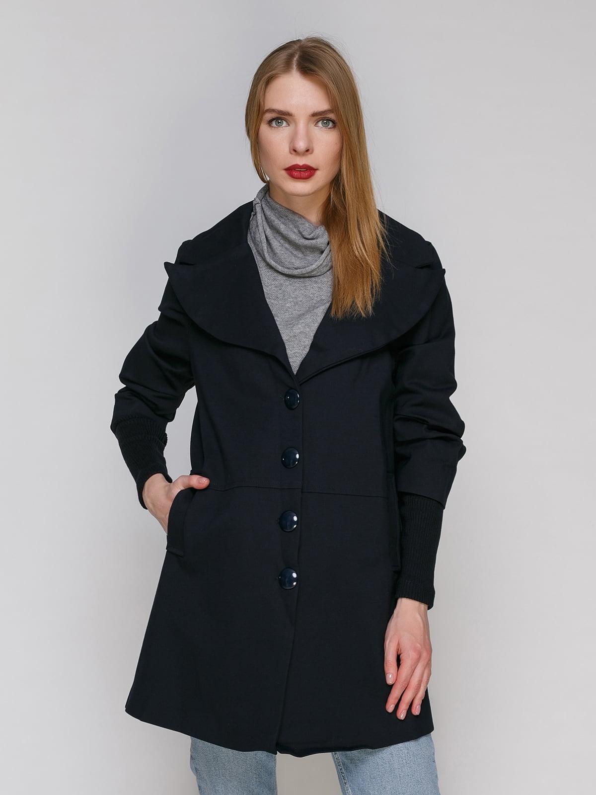 Пальто темно-синє   4911222