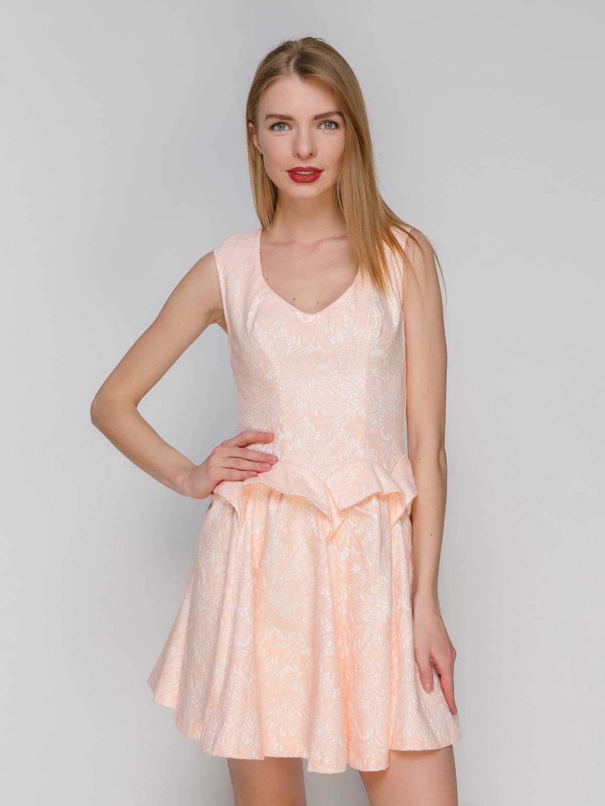 Сукня персикового кольору   4911126