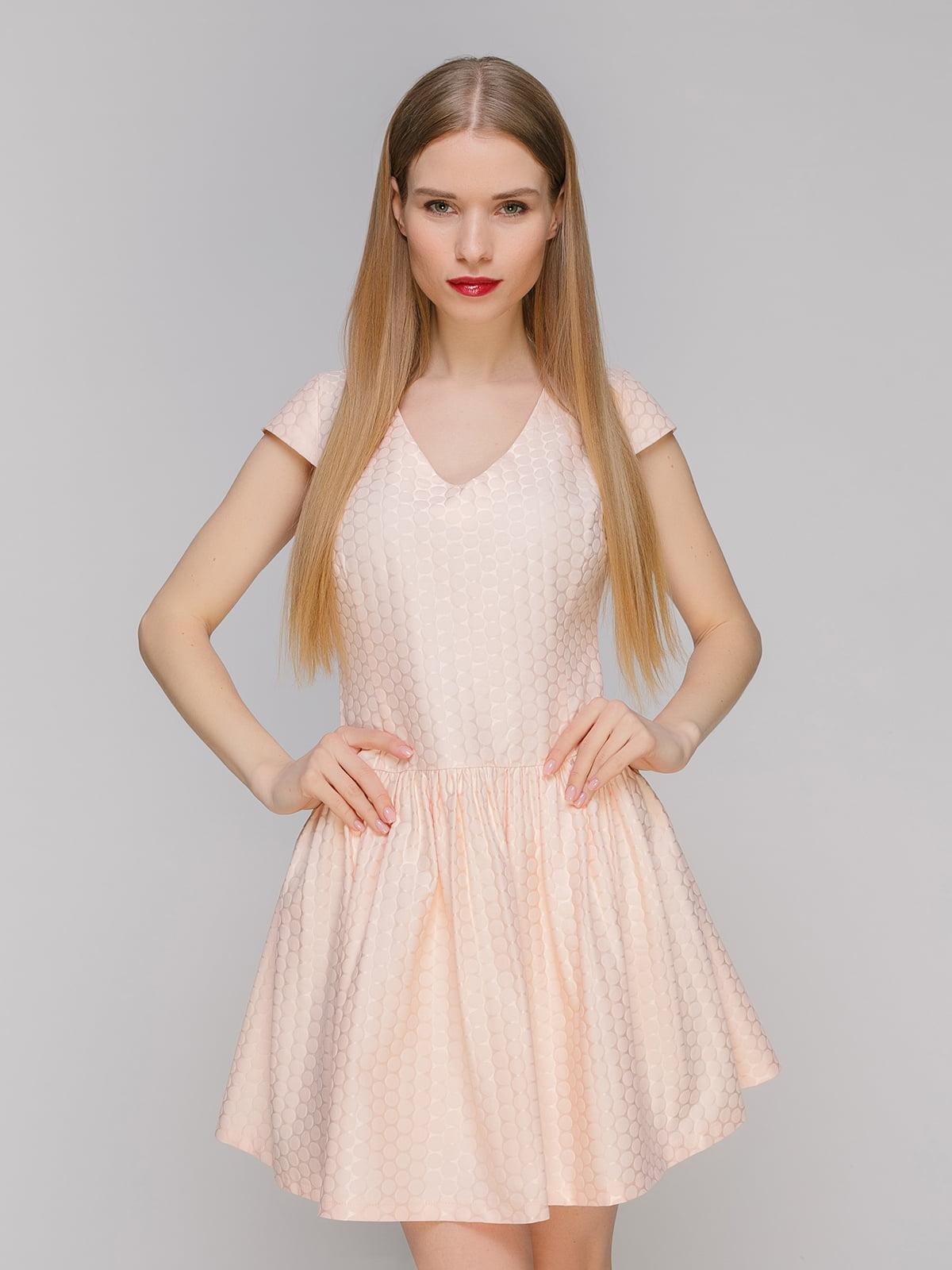 Сукня персикового кольору | 4911116