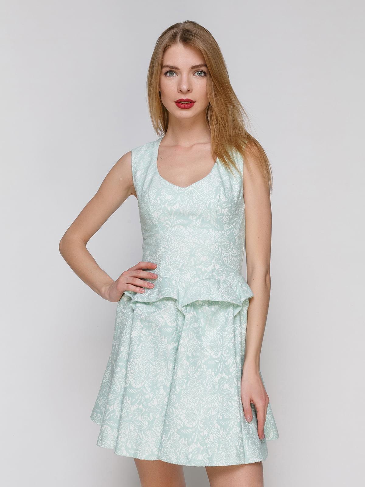 Сукня бірюзова   4911125