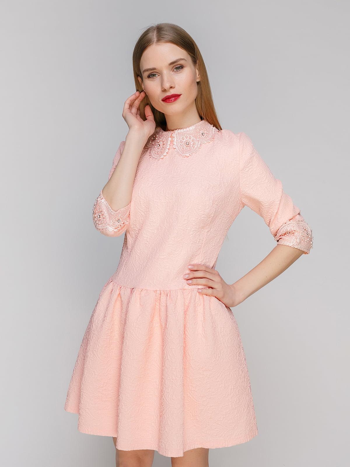 Сукня персикового кольору | 4911017