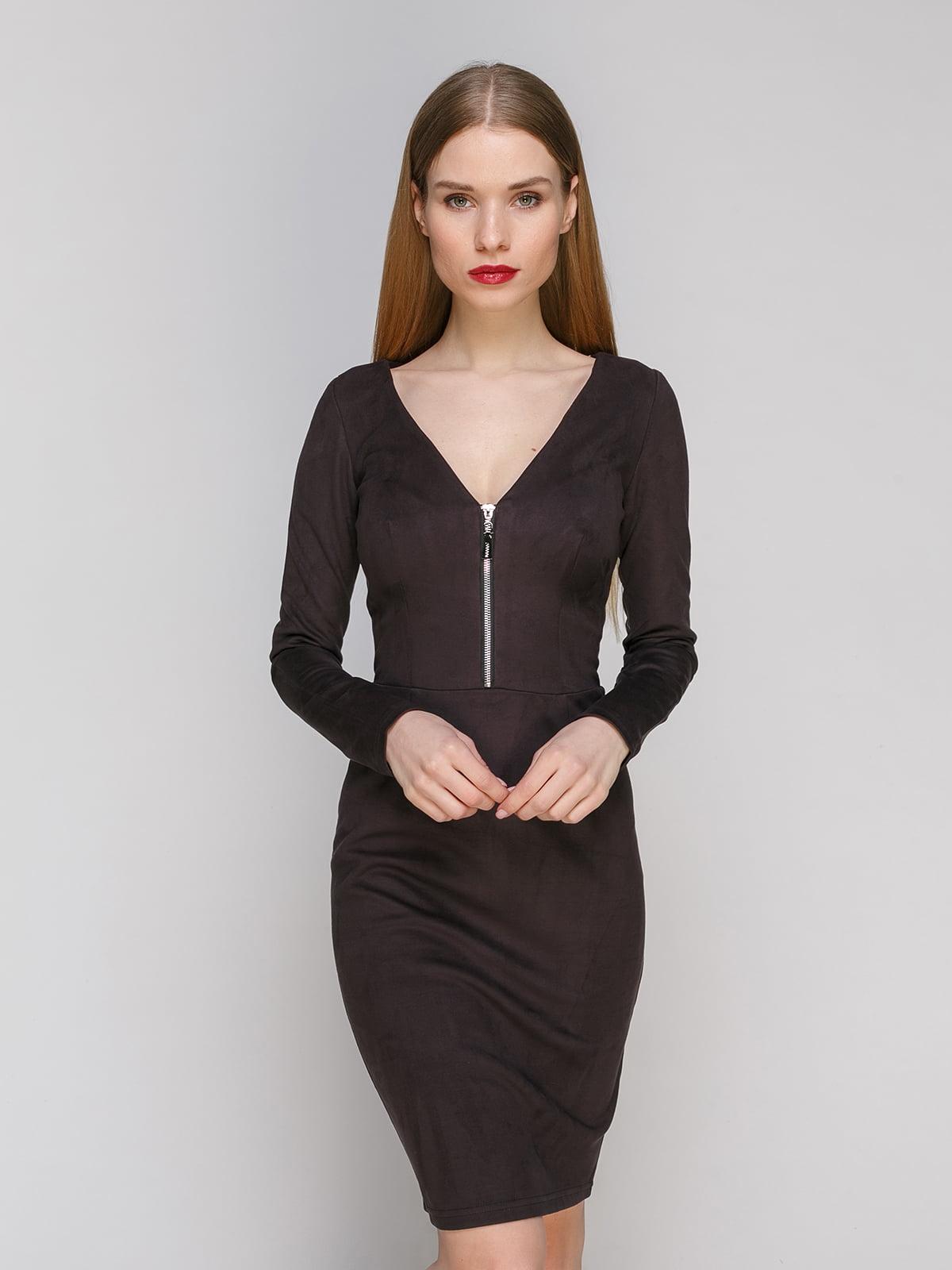 Сукня коричнева | 4910783