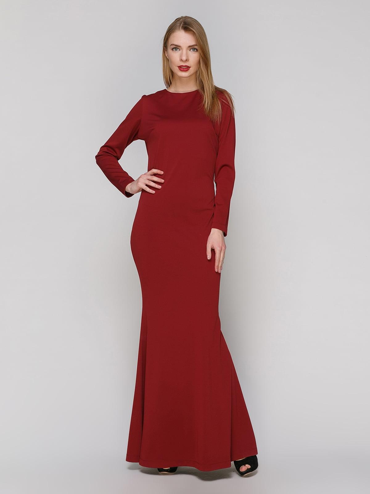 Сукня бордова   4910999