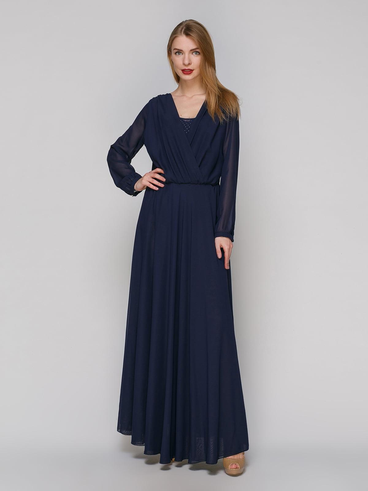 Сукня темно-синя   4911007