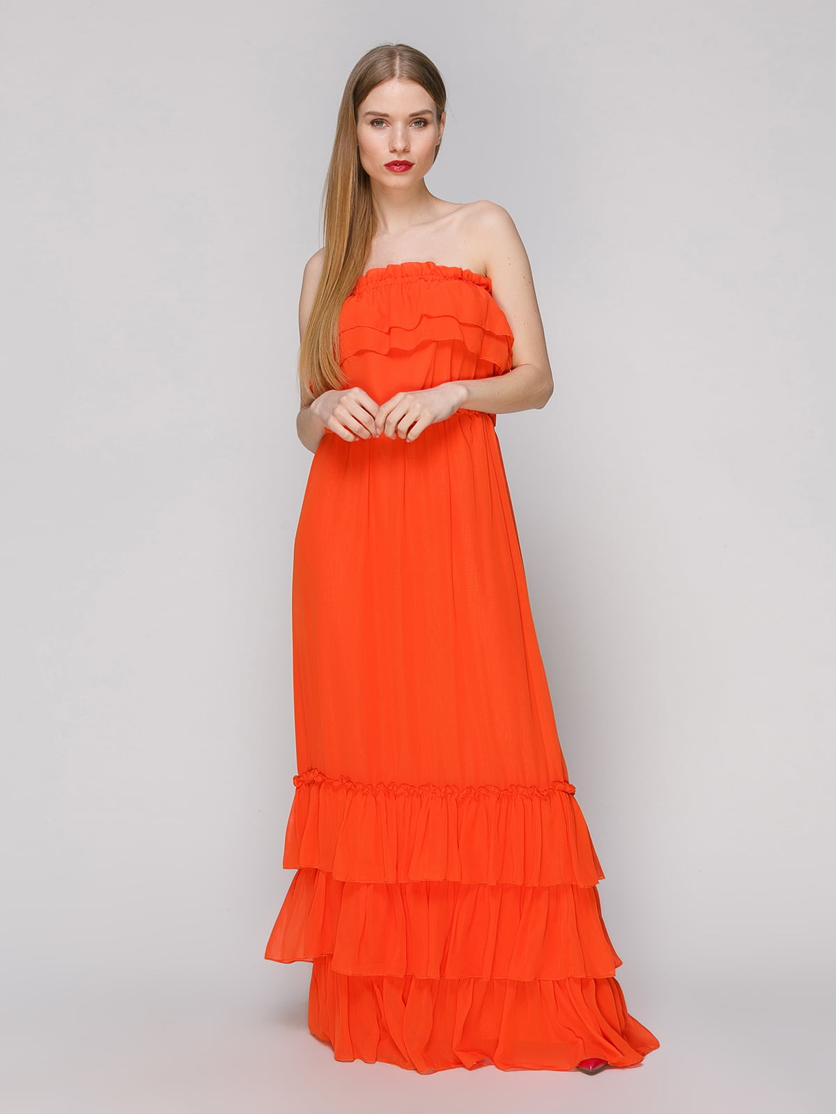 Сукня помаранчева | 4910698