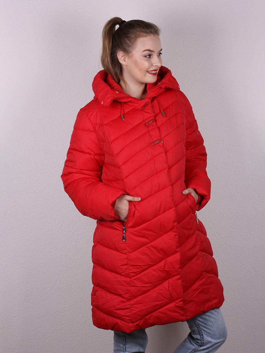 Пальто красное   4977699   фото 2