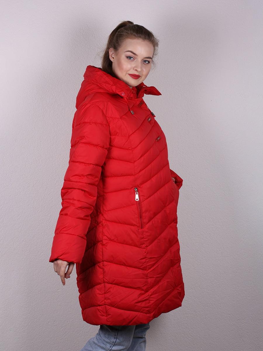 Пальто красное   4977699   фото 3